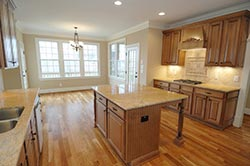 transitional Granite kitchen Exclusive Marble & Granite Greensboro